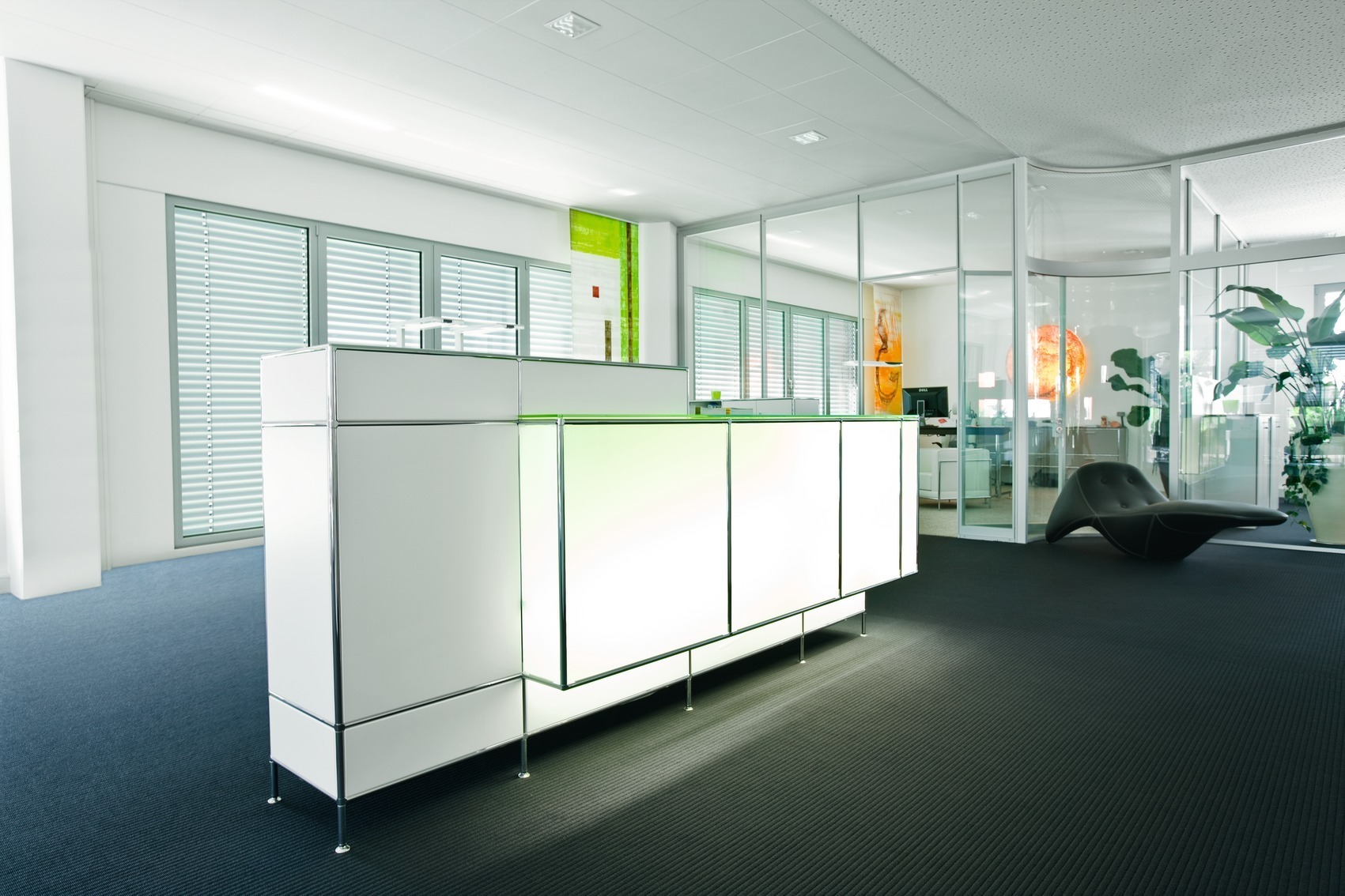 Büroeinrichtung empfang  BOSSE BÜROMÖBEL - Köln
