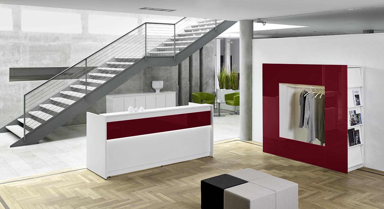 Büroeinrichtung empfang  EMPFANG & WARTEN - Köln