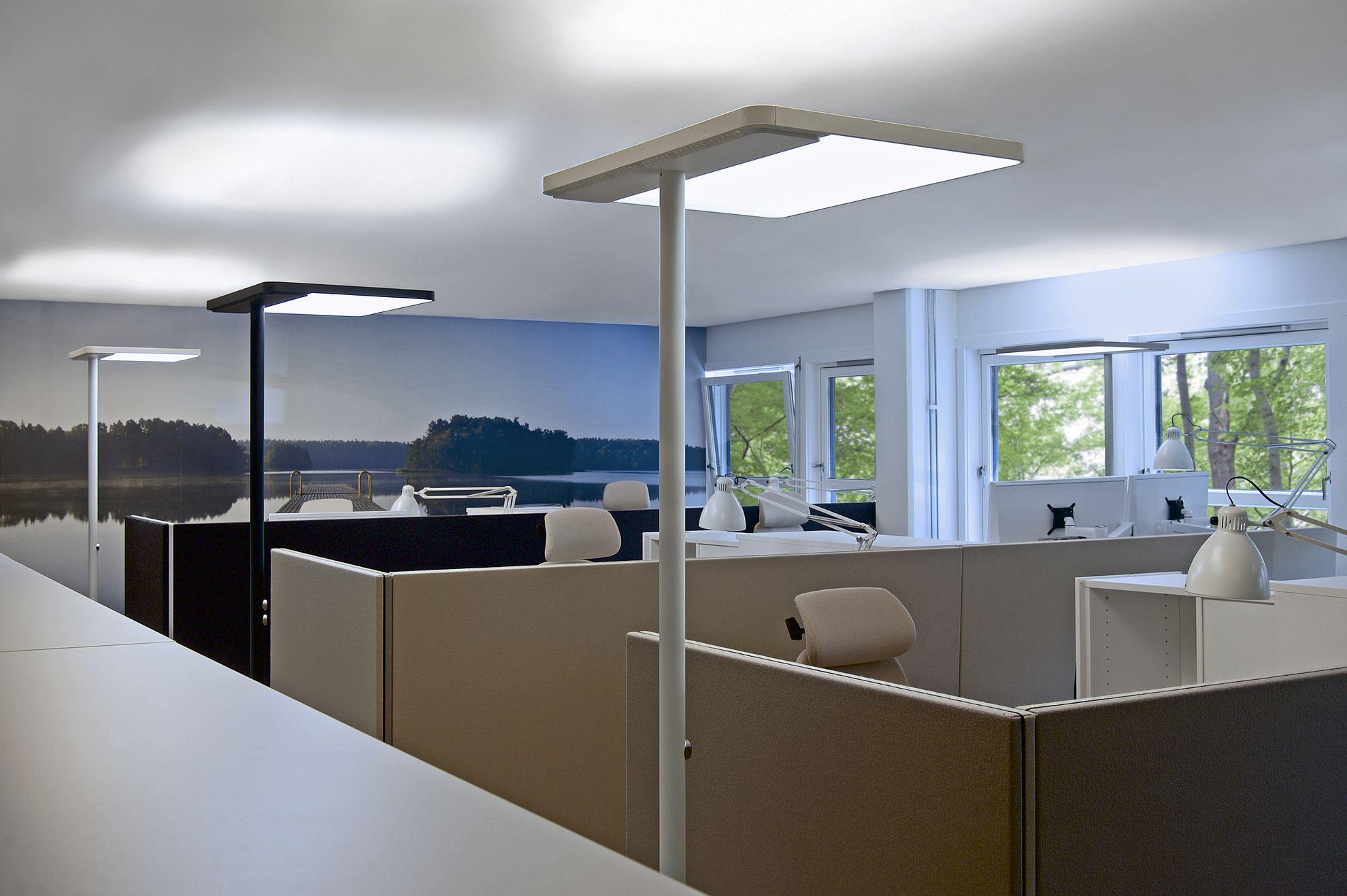 Licht Büro büroeinrichtung bürobeleuchtung köln